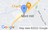 Map of Mint Hill NC