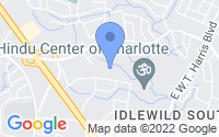 Map of Charlotte NC