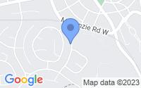 Map of Pinehurst NC
