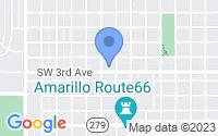 Map of Amarillo TX