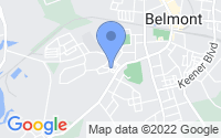 Map of Belmont NC