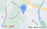 Map of Cramerton NC