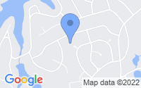 Map of Whispering Pines NC