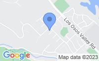 Map of San Luis Obispo CA