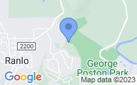 Map of Gastonia NC
