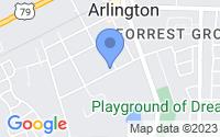 Map of Arlington TN