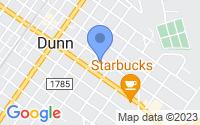 Map of Dunn NC