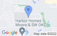 Map of Moore OK