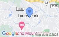 Map of Laurel Park NC