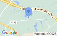 Map of Benson NC