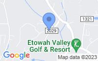Map of Etowah NC