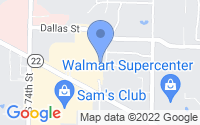 Map of Fort Smith AR
