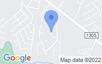 Map of Concord NC