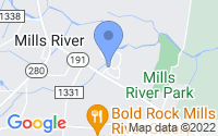 Map of Mills River NC