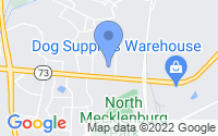 Map of Huntersville NC