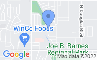 Map of Midwest City OK