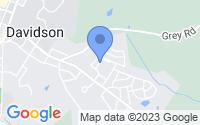 Map of Davidson NC