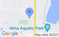 Map of Alma AR