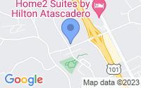 Map of Atascadero CA