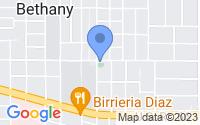 Map of Bethany OK