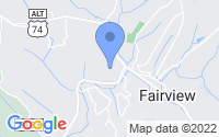 Map of Fairview NC