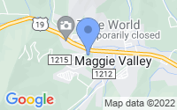 Map of Maggie Valley NC