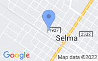 Map of Selma NC