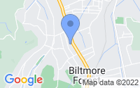 Map of Biltmore Forest NC