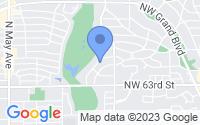 Map of Nichols Hills OK