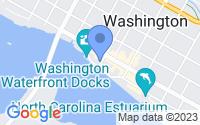 Map of Washington NC
