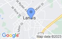 Map of Landis NC