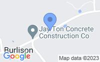Map of Burlison TN