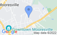 Map of Mooresville NC
