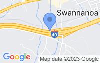 Map of Swannanoa NC