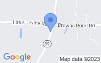 Map of Selma NC