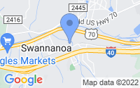 Map of Swannanoa NC
