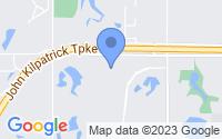 Map of Oklahoma City OK