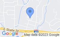 Map of Black Mountain NC