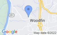 Map of Woodfin NC