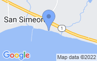 Map of Ragged Point CA
