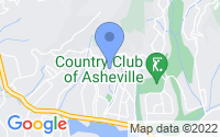 Map of Asheville NC