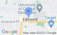 Map of Edmond OK