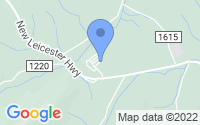 Map of Leicester NC