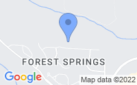 Map of Holly Springs NC