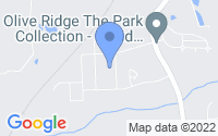 Map of New Hill NC
