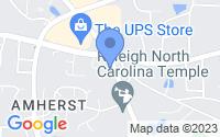 Map of Apex NC