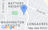 Map of Raleigh NC