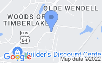 Map of Wendell NC