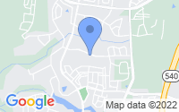 Map of Cary NC