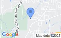 Map of Thomasville NC
